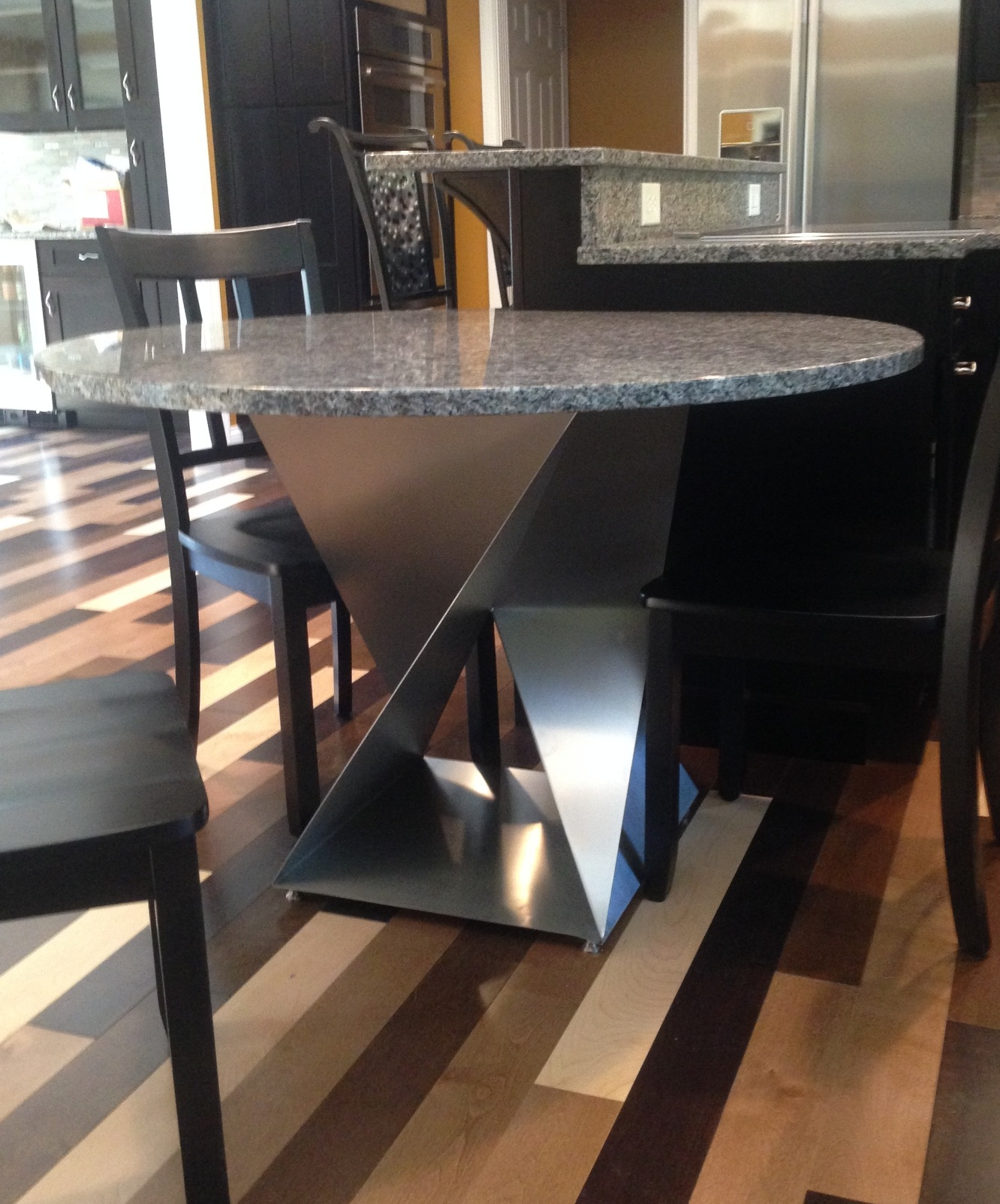 Twist Table Bases Dining Height Custom Metal Home
