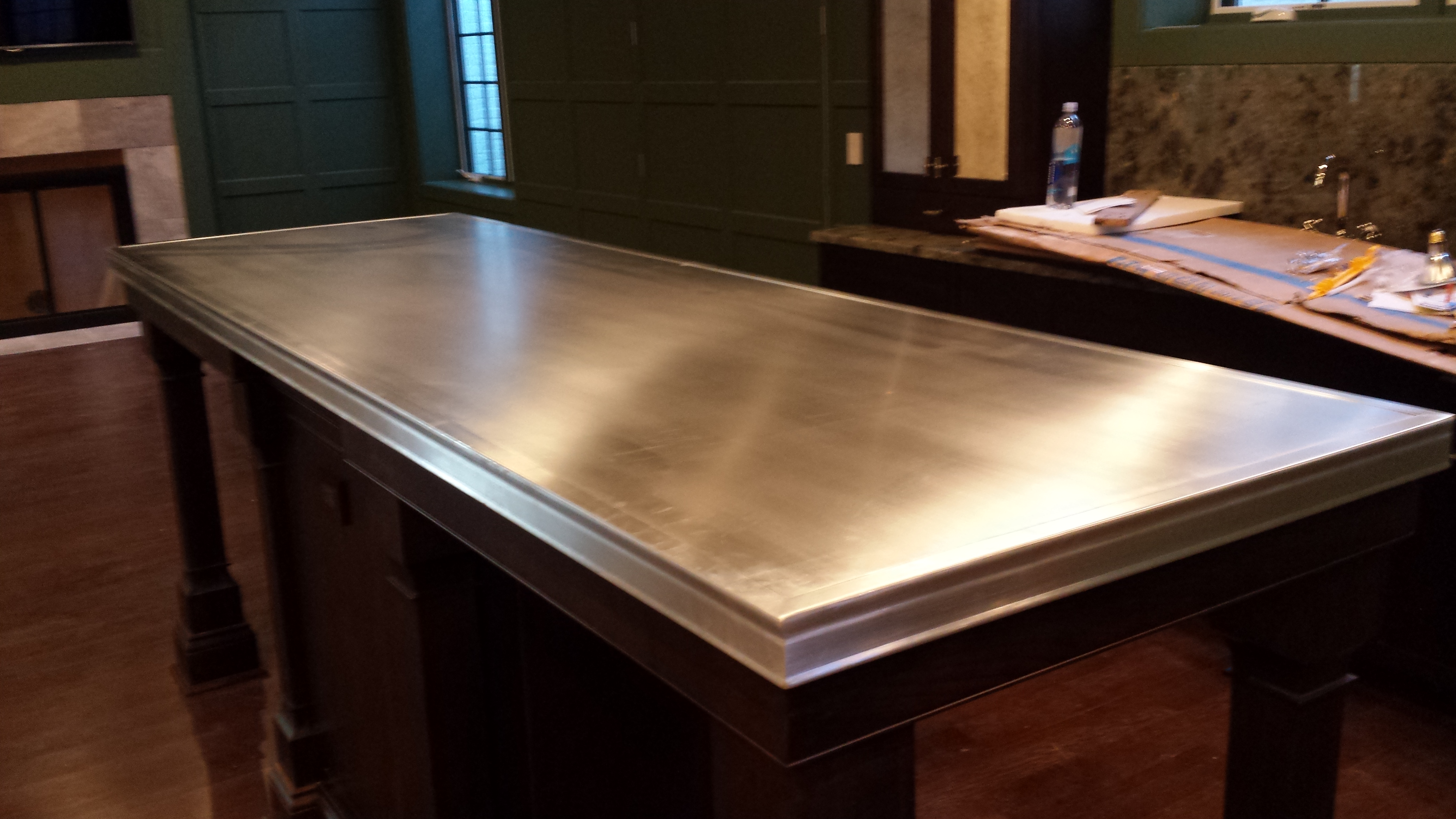 Zinc Countertops Custom Metal Home