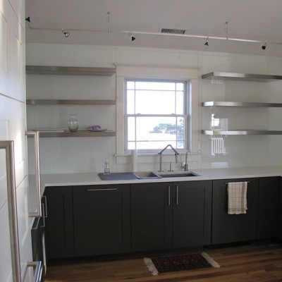 Pics Photos - Stainless Steel Floating Shelves And Powder Coated