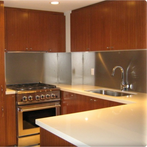 Backsplash Panels: Metal Backsplash Panels