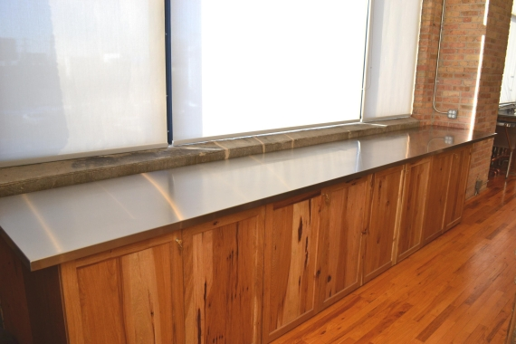 stainless steel countertops  u2013 custom metal home