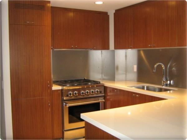 Custom Metal Home Metal Backsplash Panels