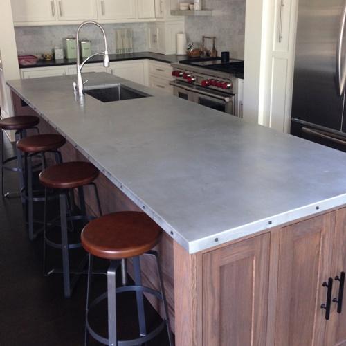 Zinc Kitchen Countertop 28 Images Zinc Countertops
