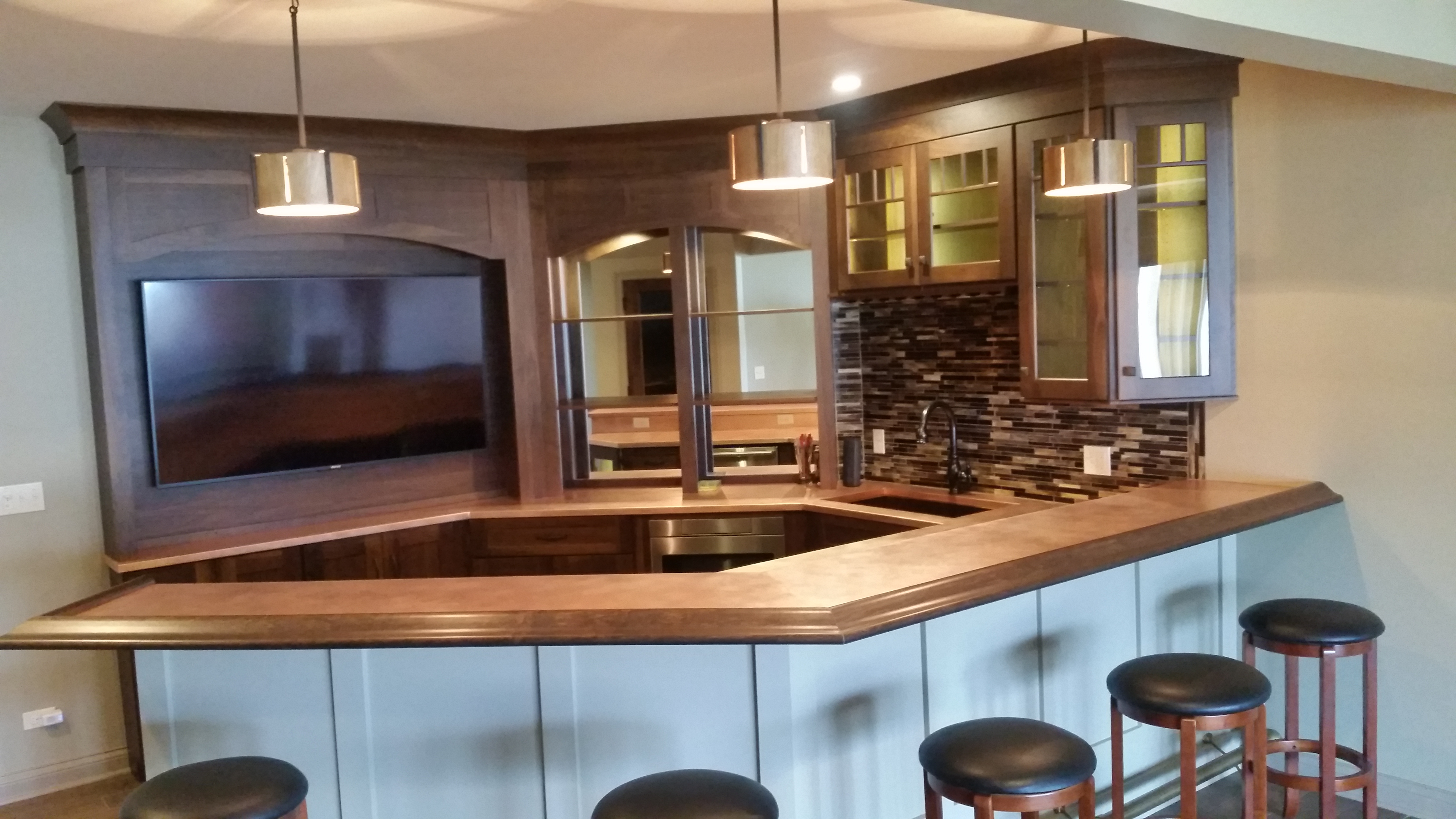 large island phoenix copper kitchen sinks countertops countertop washed acid paradise portfolio az gallery and view concrete