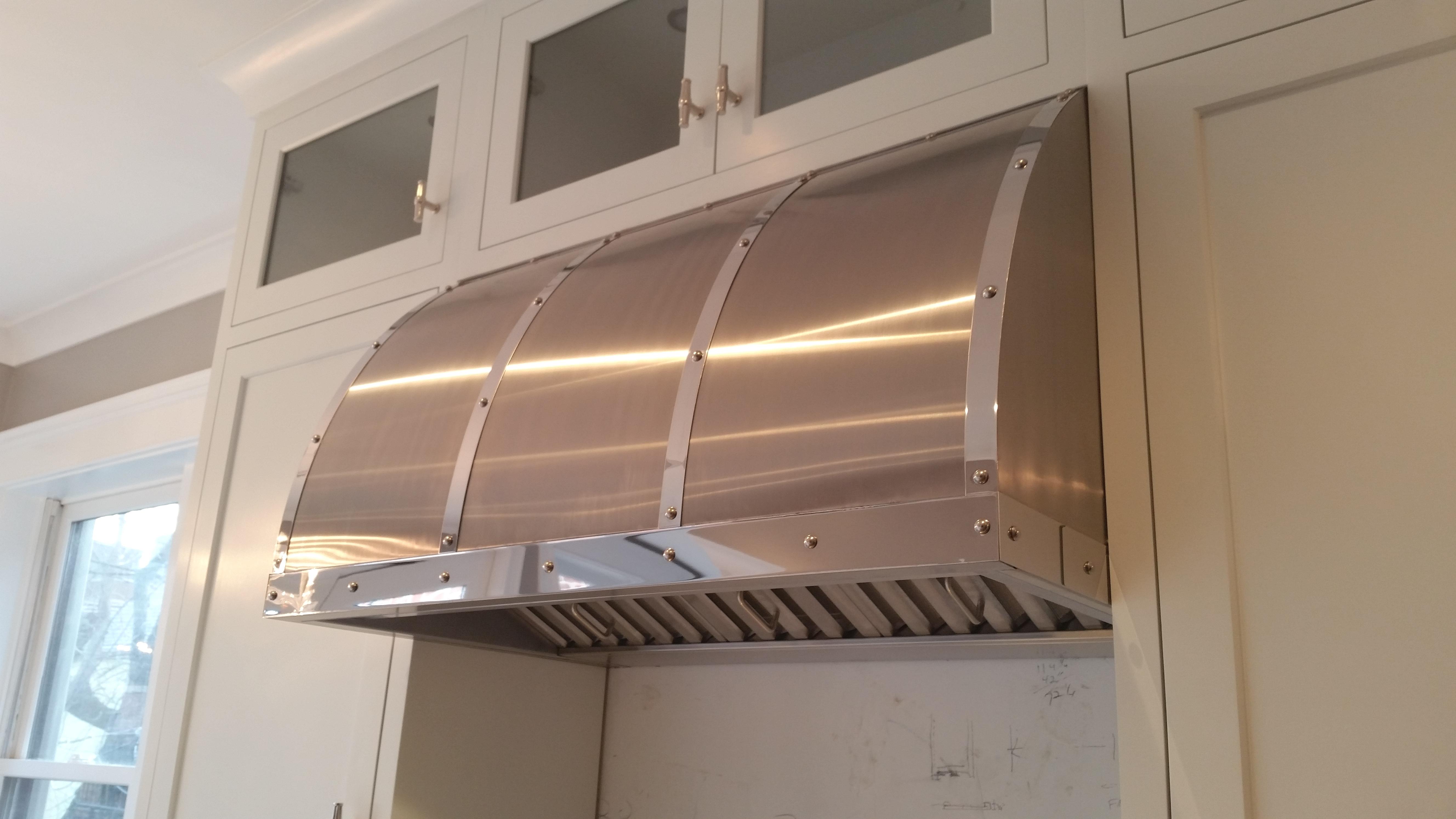 Stainless Steel Range Hoods ~ Stainless steel range hoods custom metal home