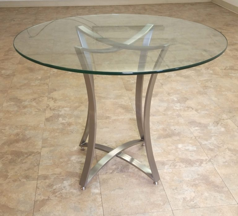 modern stainless steel table base