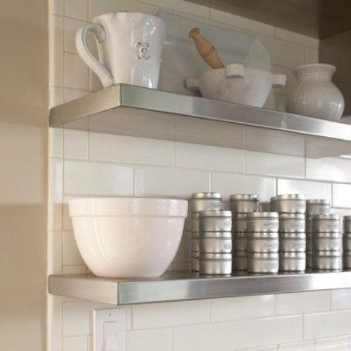 Stainless Steel Shelves Sh2 Design Custom Metal Home