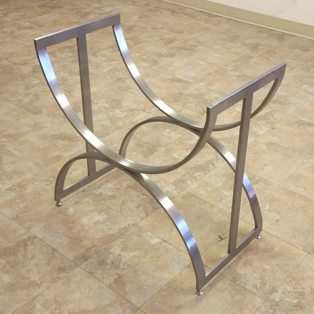 Oceanus table bases custom metal home Metal table base