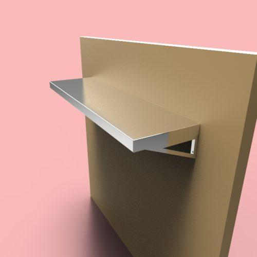 stainless steel shelves sh2 design custom metal home. Black Bedroom Furniture Sets. Home Design Ideas