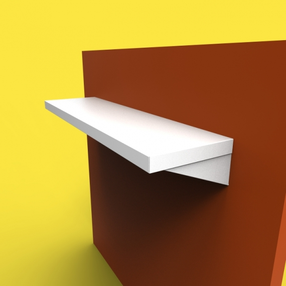 Stainless Steel Shelves SH1 Design Custom Metal Home