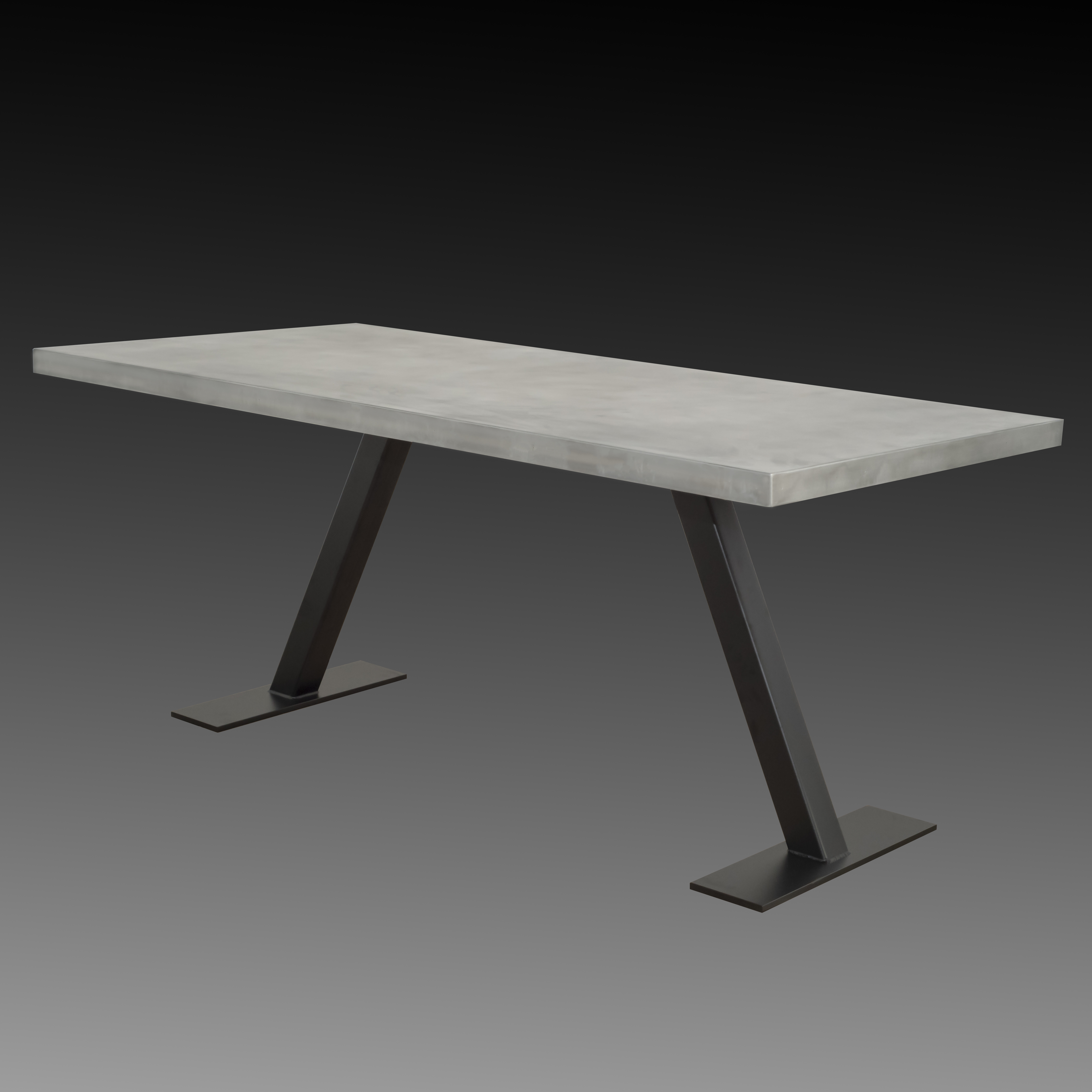 Zinc Table with Elena Base Custom Metal Home : Elena 2579B from custommetalhome.com size 4548 x 4548 jpeg 1913kB