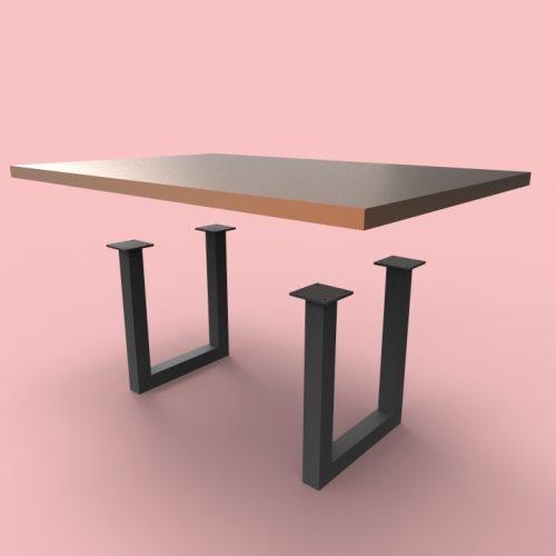 Adriana Table Legs Custom Metal Home