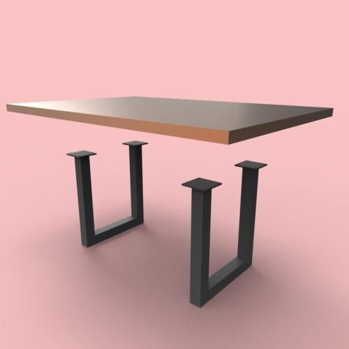 Sabrina Table Legs Custom Metal Home : Sabrina Table Legs from custommetalhome.com size 500 x 500 jpeg 44kB