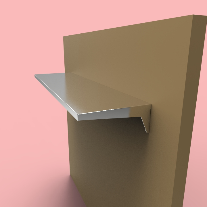 stainless steel shelves sh6 design custom metal home. Black Bedroom Furniture Sets. Home Design Ideas