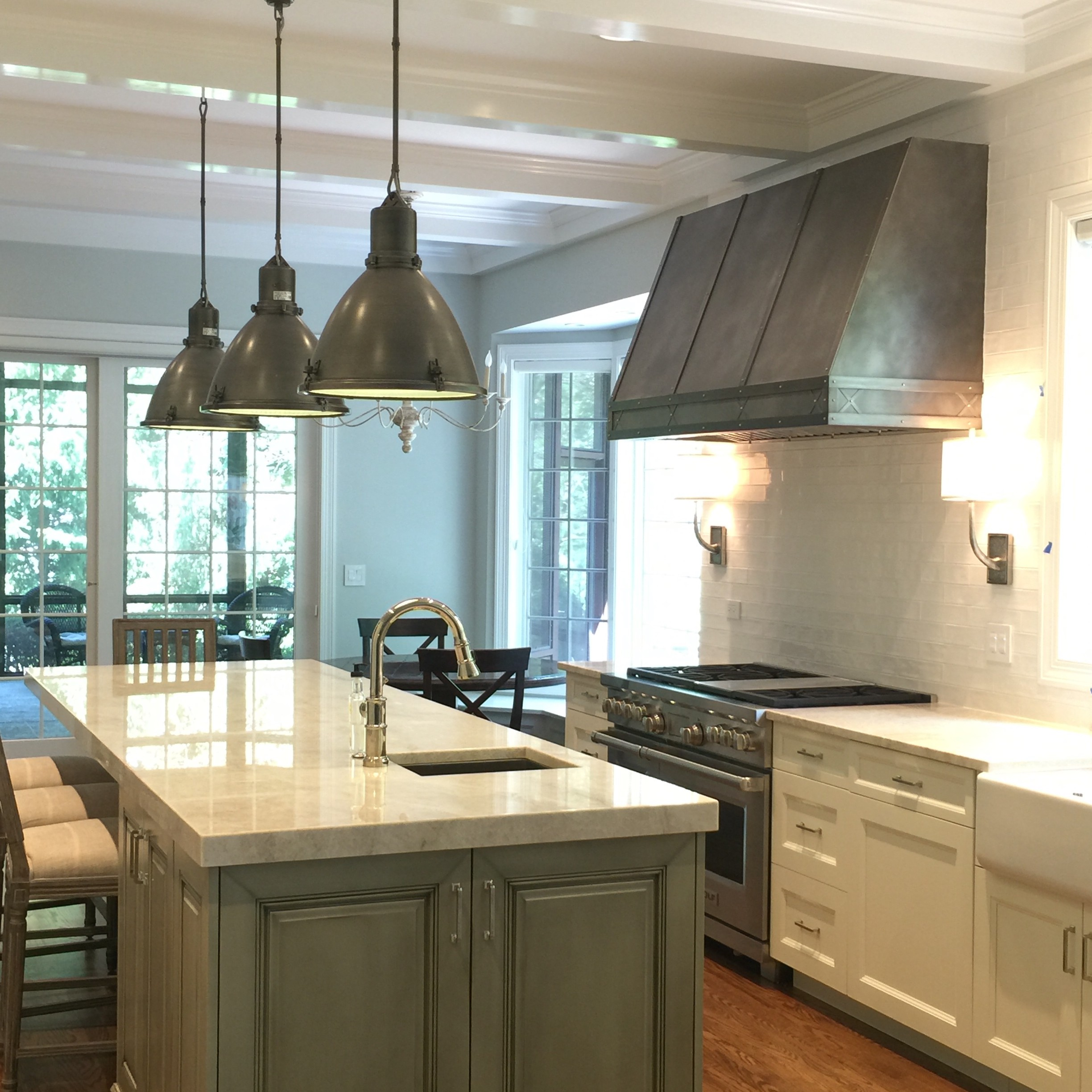 Zinc Range Hoods – Custom Metal Home