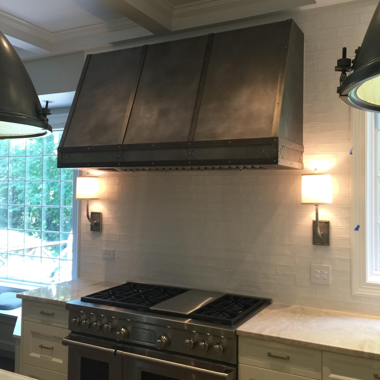 Black Stainless Steel Kitchen Hoods