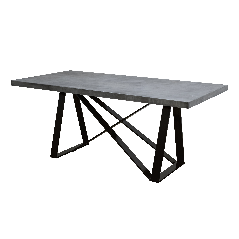 Zinc Table with Argos Base – Custom Metal Home