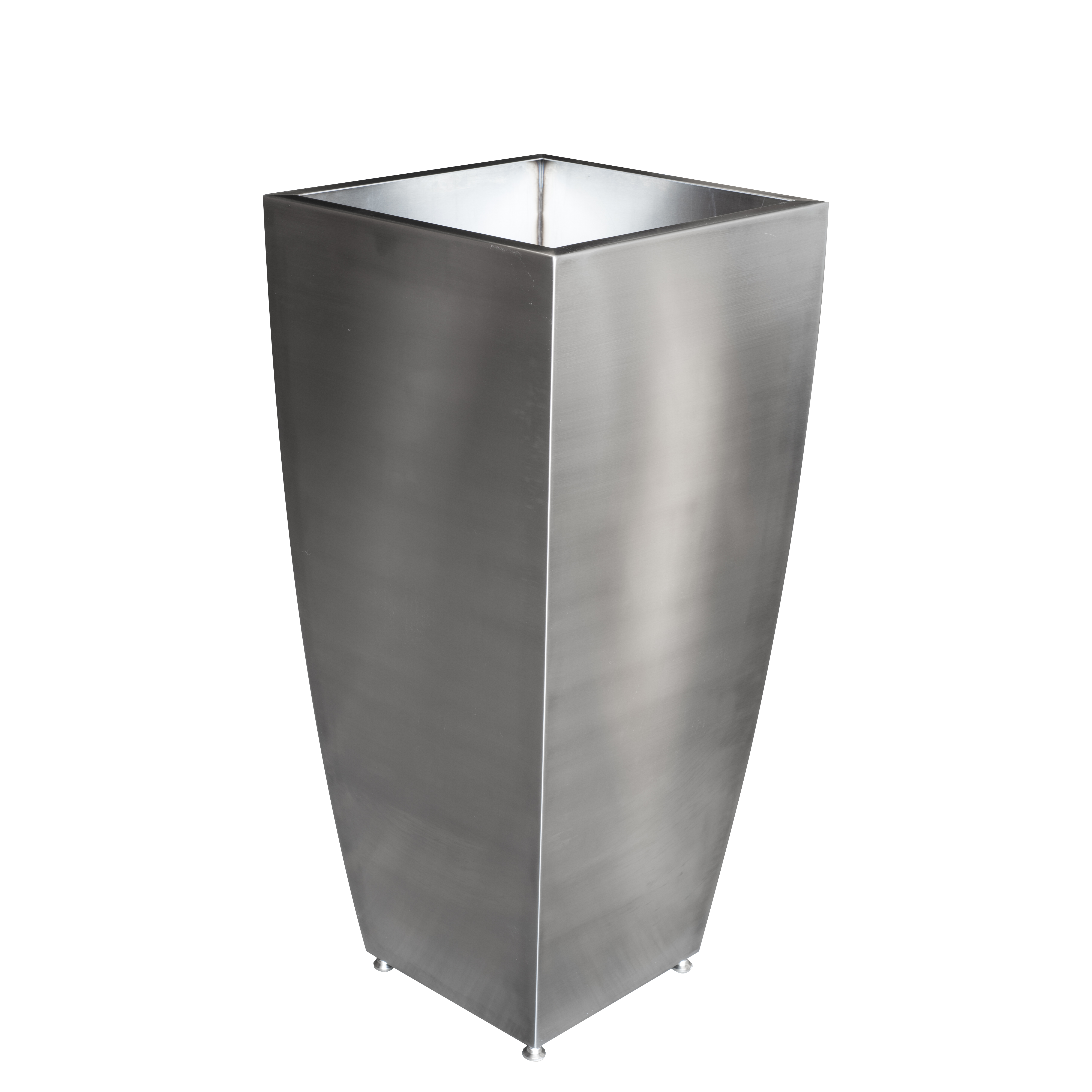 Planters Stainless Steel Curved Custom Metal Home