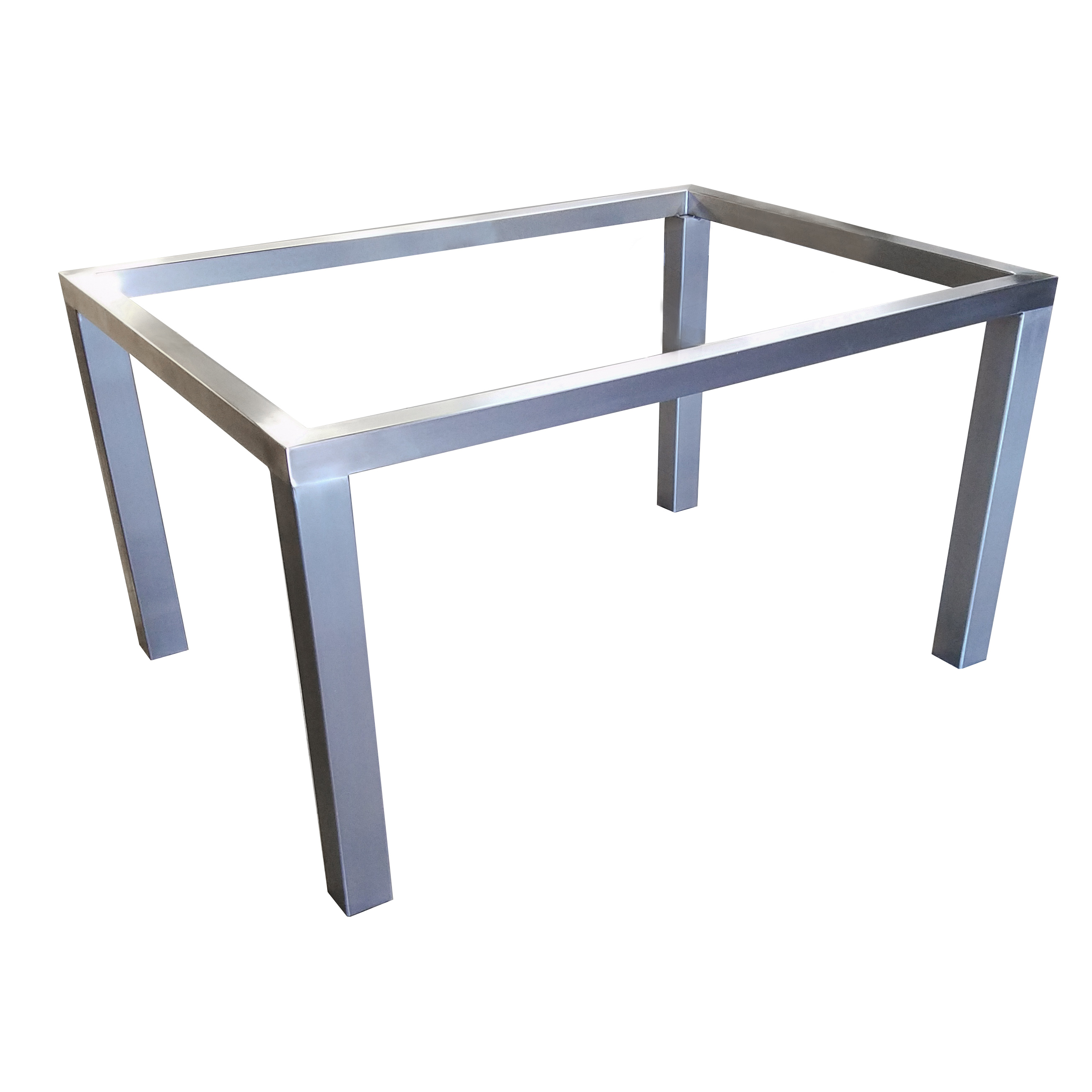Parsons table base custom metal home for Side table base