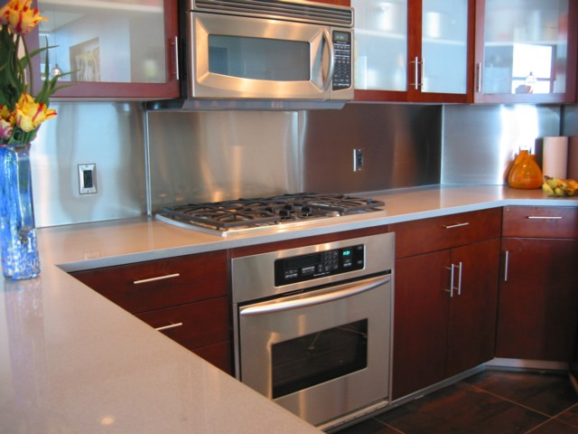 stainless steel kitchen backsplash panels metal backsplash panels custom metal home 4972