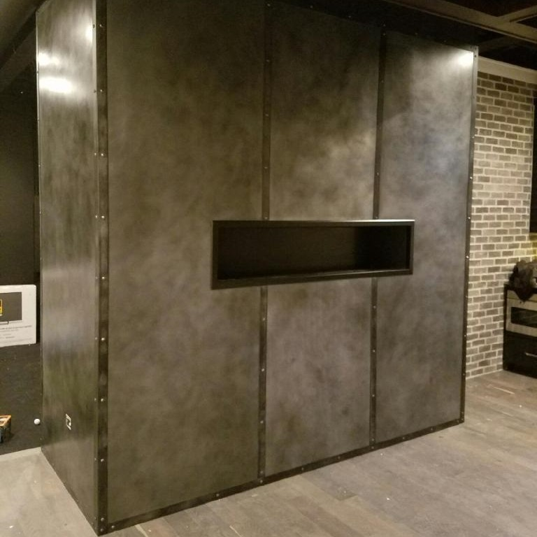 Metal Backsplash Panels – Custom Metal Home