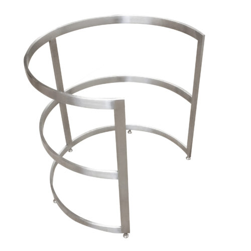europa style round steel base