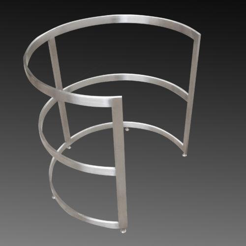 europa style round steel base