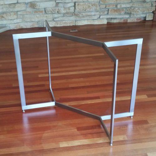 custom virgo table base sideview