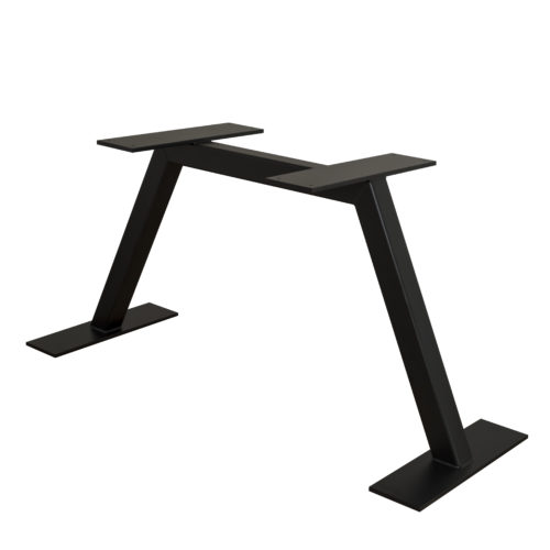 elena dark steel table stand