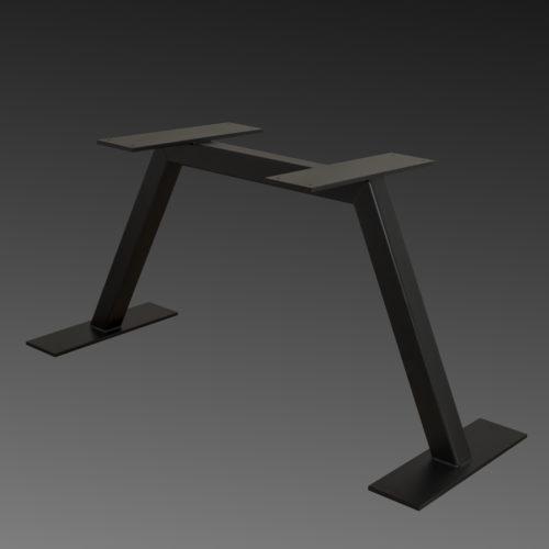 elena dark steel table stand
