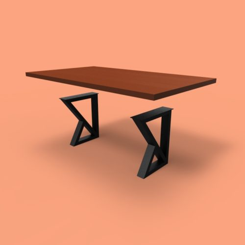 florentina style darkened steel base