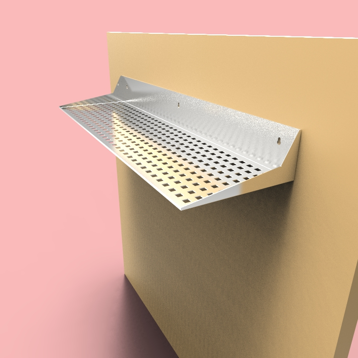 Stainless Steel Shelves (SH2 Design)