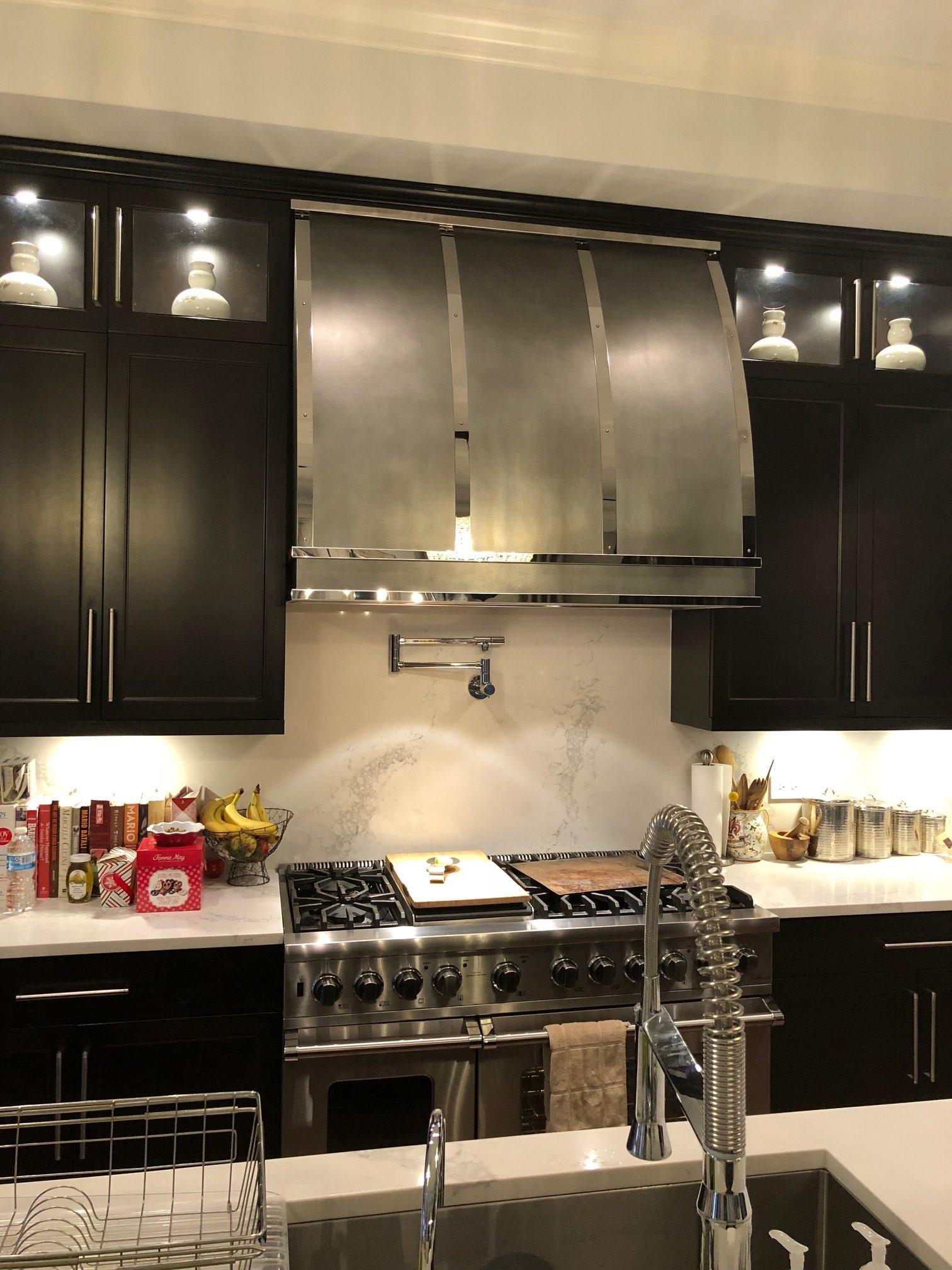 Zinc Range Hoods Custom Metal Home