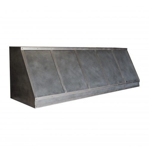 zinc on zinc range hood