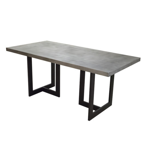claudia style rectangle table