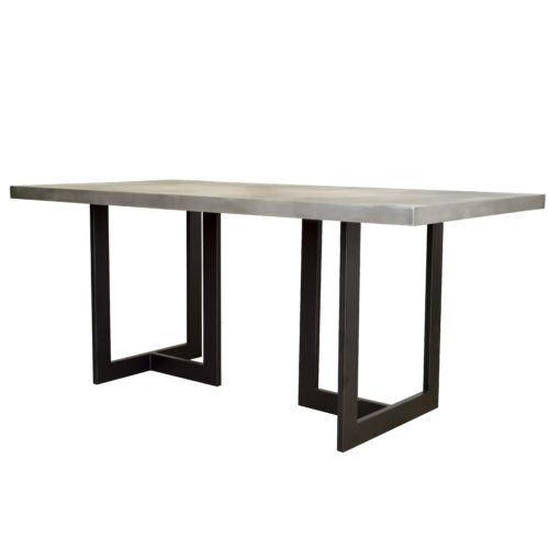 claudia style table base with marbe top