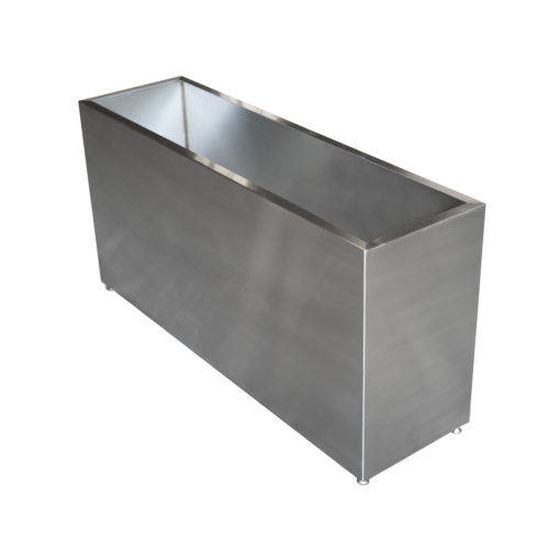 custom steel rectangle box base