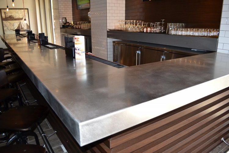 Beau Custom Metal Home Precision Fabricators. Stainless Steel Bar Top ...