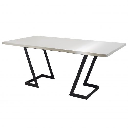 stainless steel rectangle table top table