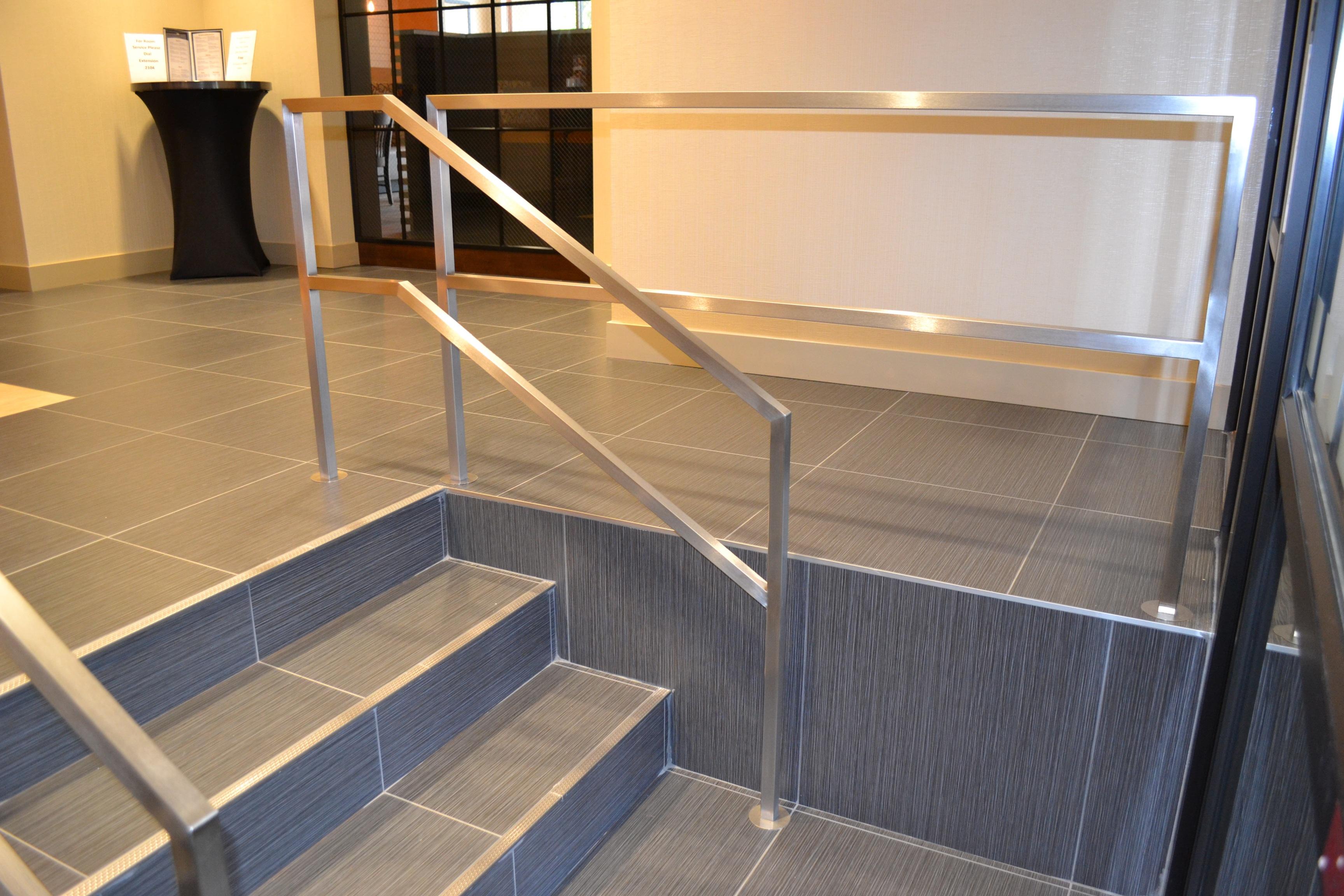 Handrails - Custom Metal Home
