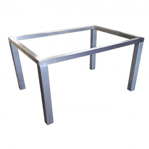 stainless steel parsons table base