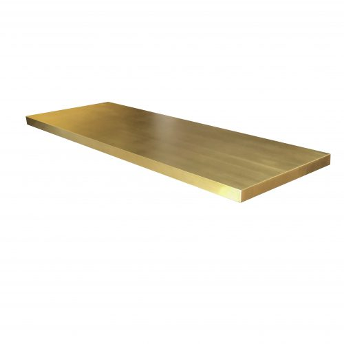 rectangle brass table top